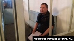 Мелис Калыков на судебном процессе. Архивное фото.