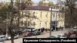 Будівля суду в Сімферополі, 28 березня 2019 року
