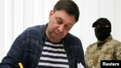 Кирило Вишинський у суді в Херсоні, 17 травня 2018 року