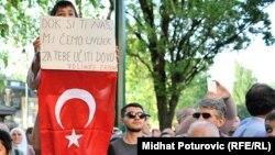 Erdogan je u posjeti BiH boravio 2015. godine.