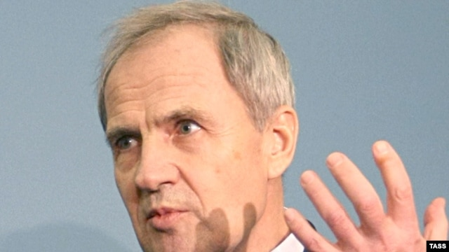 Valery Zorkin, chairman of Russia's Constitutional Court