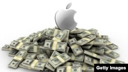 apple iphone money dollar