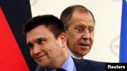 Павел Климкин и Сергей Лавров