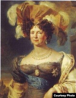 Императрица Мария Федоровна. Портрет работы Джона Доу (1820-е годы)