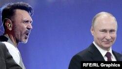 Шнурова просувають в політику за прямою вказівкою президента Росії Путіна.