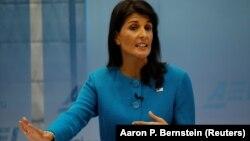 Американскиот амбасадор во ОН, Ники Хејли
