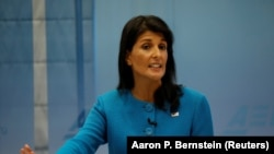 U.S. Ambassador to the United Nations Nikki Haley (file photo)