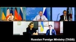 آرشیف، اجلاس سران اوکراین، روسیه، فرانسه و جرمنی.