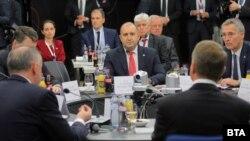 Rumen Radev president of Bulgaria NATO B9