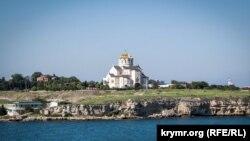 Свято-Владимирский кафедральный собор на территории Херсонеса