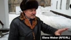 Ликвидатор аварии на Чернобыльской АЭС, инвалид второй группы Абильда Абдикаримов. Караганда, 22 ноября 2018 года.