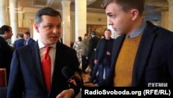 Олег Ляшко каже, що не бачився з Рінатом Ахметовим у Кабміні