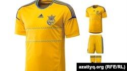Украина құрамасының формасы.