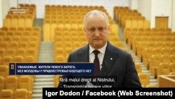 """Igor Dodon, în noul episod """"Președintele Răspunde"""""""