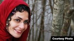 Иранская активистка Бахаре Хедаят.