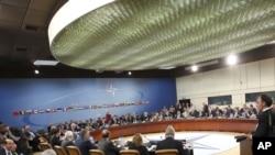 Встреча министров обороны стран НАТО в Брюсселе