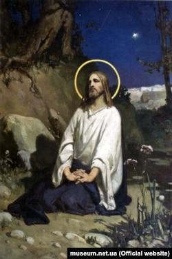 Робота «Моління про чашу» художника Вільгельма Котарбінського