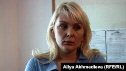 Наталья Евдокимова, представитель собственника газеты «Вечерний Талдыкорган» Виктора Букова.
