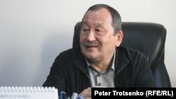 Режиссер-кинодокументалист Сергей Әзімов. Алматы, 5 желтоқсан 2016 жыл.