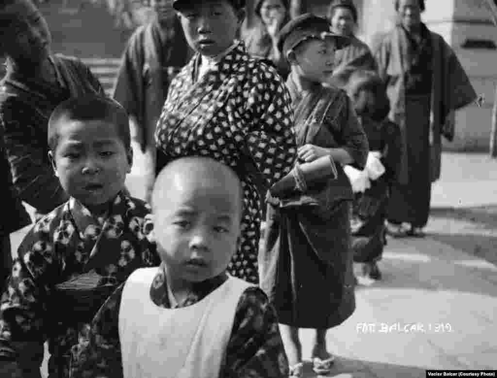 Children in Nagasaki, Japan