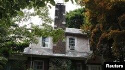 Дом, в котором были арестованы предполагаемые шпионы.