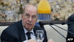 سالم زعنون، از اعضای ارشد شورای مرکزی سازمان آزادی بخش فلسطین ، بیانیه پایانی این شورا را قرائت کرد.