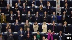 Зал заседания Европарламента