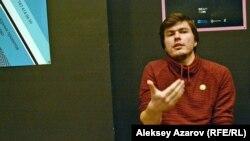 Художественный руководитель театральной площадки «Трансформа» Антуан Дукравец. Алматы, 19 января 2018 года.