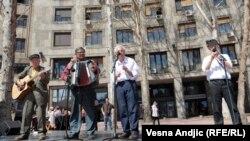 Audicija za ulične zabavljače, Beograd, 19.4.2013.