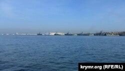 корабли Черноморского флота России в акватории Севастопольской бухты