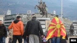 Protest u Skoplju zbog menjanja imena Makedonija