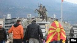 EK: Izveštaj o ovoj zemlji je među pozitivnijim (na fotografiji: prizor iz Skoplja)