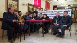 Türk işçilerine türkmen ilçihanasynyň öňünde piket gurnamaga rugsat berilmedi