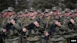 Pripadnici Kosovskih obrambenih snaga