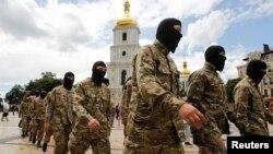 Бійці батальйону «Азов», ілюстраційне фото