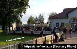 Фота: тэлеграм-канал Nexta.