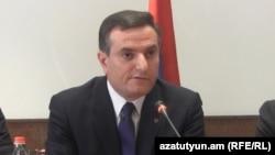 Заместитель министра обороны Армении Артак Закарян (архив)
