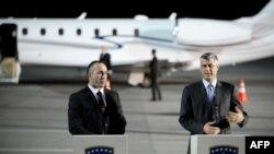 Ramush Haradinaj dhe Hashim Thaçi