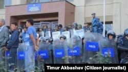 Караколдогу митинг, 7-октябрь, 2013-жыл. (Тимур Акбашевдин фотосу)