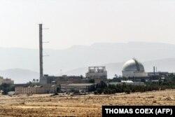 تصویری از نیروگاه اتمی دیمونا در اسرائیل
