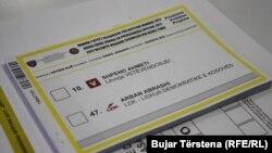 Fletë votimi