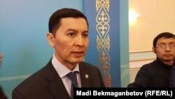 ҰҚК департаментінің басшысы Бақытбек Рақымбердиев. Астана, 10 қаңтар 2019 жыл.