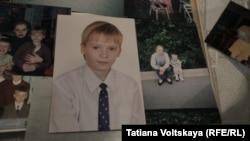 Фотографии Жени Пушкарева, погибшего в боевых действиях на востоке Украины.