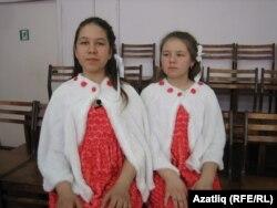 Розалина Насирова һәм Аделина Александрова (у)