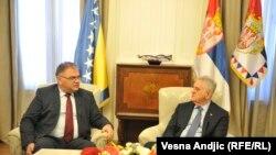 Ivanić sa Tomislavom Nikolićem u Beogradu, 31. maja 2016.