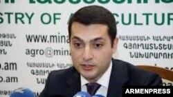 Заместитель министра сельского хозяйства Армении Армен Арутюнян (архив)