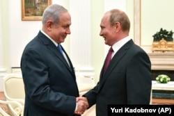 Очередной визит Биньямина Нетаньяху к Владимиру Путину. Кремль, 11 июля 2018 года
