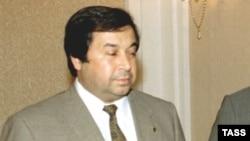 Министр иностранных дел Туркменистана Борис Шихмурадов. 26 июня 1997 года.