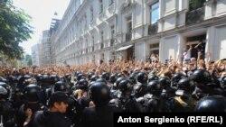 Акция протеста с требованием допустить независимых кандидатов на выборы в Мосгордуму, 27 июля 2019 года