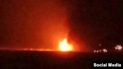 Пожежа на нафтовій платформі у Каспійському морі, Азербайджан